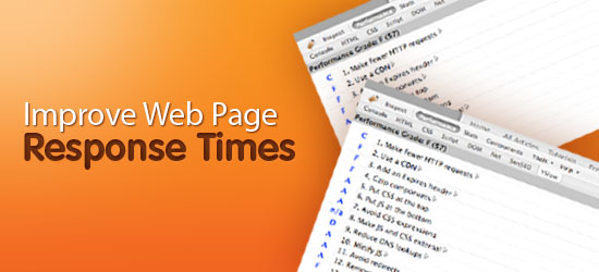 Five Ways To Speed Up Page Response Times.